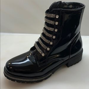 Scoop Brand new rhinestones Combat boots.